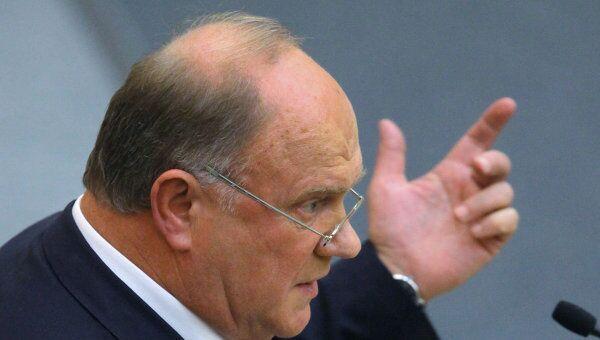 Государственная дума приняла в первом чтении проект бюджета-2010