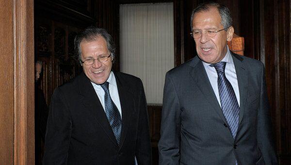 Встреча глав МИД России и Восточной Республики Уругвай