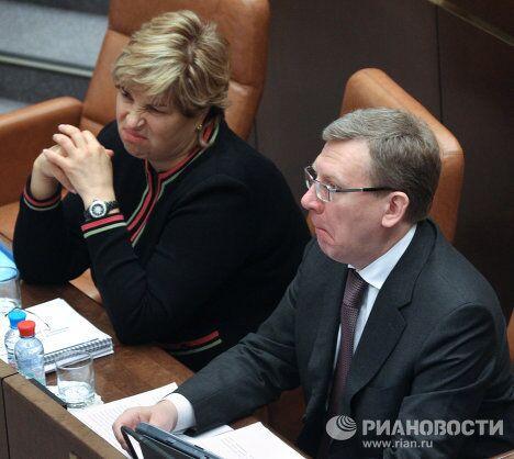 Заседание Совета Федерации РФ. 1 декабря 2010 года