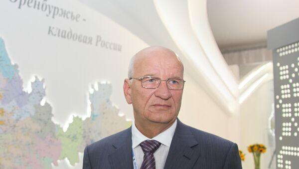 Губернатор, председатель правительства Оренбургской области Юрий Берг. Архивное фото