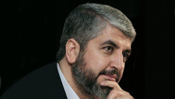 Лидер ХАМАС  Халед Машааль