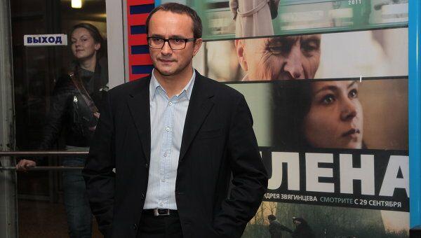 Кинорежиссер Андрей Звягинцев на премьере своего фильма Елена. Архив