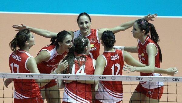 Турецкие волейболистки