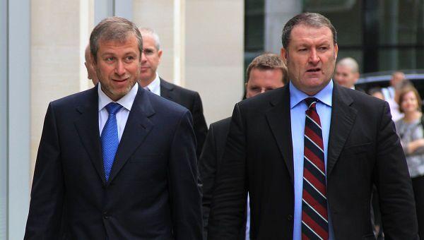 Б.Березовский и Р.Абрамович прибыли в Высокий суд в Лондоне