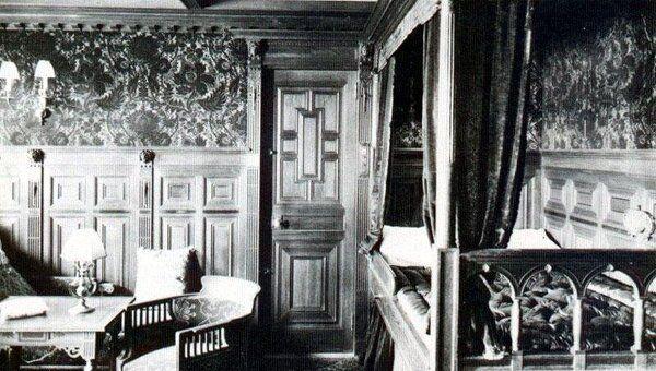 Каюта на Титанике. Архив
