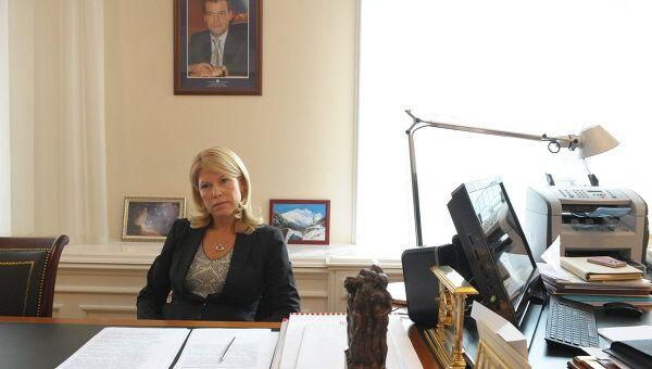Руководитель департамента образования Минобороны РФ Екатерина Приезжева