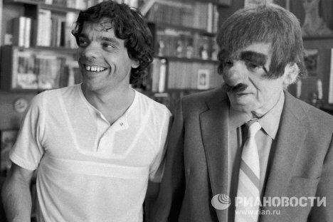 Аркадий и Константин Райкины