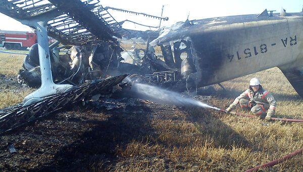 Крушение Ан-2 в Кранодарском крае. Архив