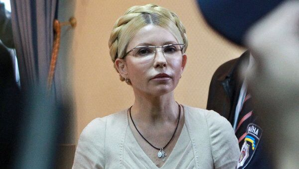 Экс-премьер Украины и лидер партии БЮТ-Батькивщина Юлия Тимошенко. Архив