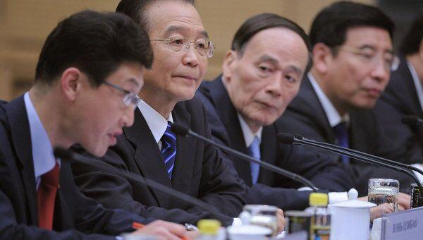 Премьер Госусовета Китайской Народной Республики Вень Цзябао