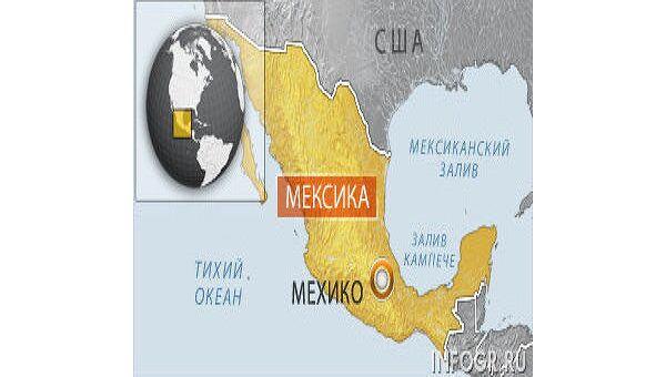 Пятеро горняков погребены под завалами в мексиканской шахте