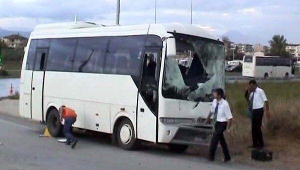 Последствия аварии автобуса с российскими туристами. Видео с места ДТП