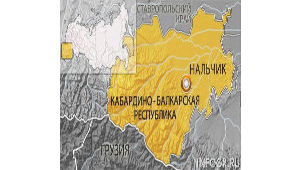 Нальчик. Карта