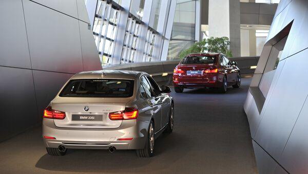 Автомобили BMW. Архивное фото