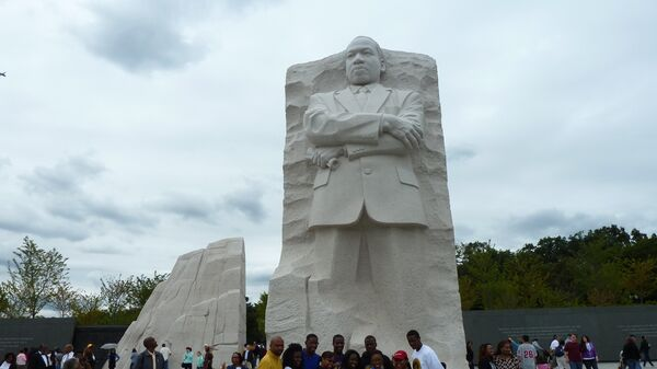 Мемориал Мартина Лютера Кинга в США. Архив
