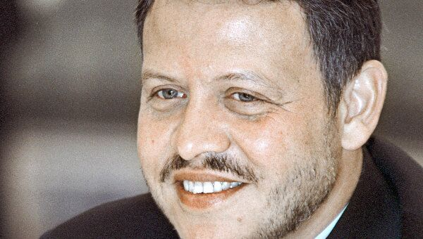 Король Иордании Абдалла II. Архив