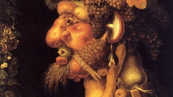 Джузеппе Арчимбольдо. Осень (1572 год). Из цикла Времена года