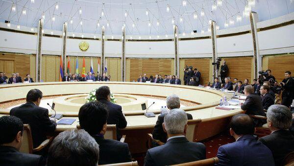 Заседание Межгосударственного совета ЕврАзЭС. Архив