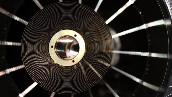 Одно из зеркал рентгеновского телескопа eROSITA, который будет работать на борту российской астрофизической обсерватории Спектр-РГ
