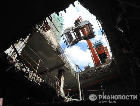 Реставрационные работы внутренних помещений Большого театра