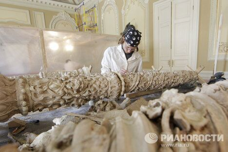 Продолжается реставрация Большого театра