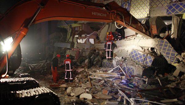 Последствия землетрясения в провинции Ван. Архив