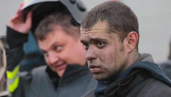 Эвакуация пассажиров метрополитена в связи с возгоранием станции Орехово