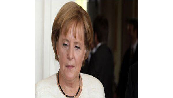 Федеральный канцлер Германии Ангела Меркель. Архив