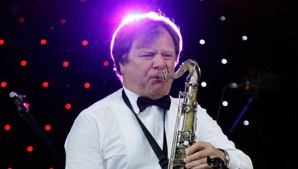 Российский саксофонист, джазмен Игорь Бутман