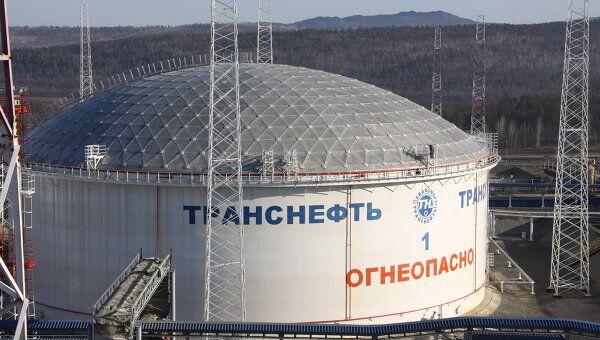 Нефтеперекачивающая станци ВСТО в Сковородино