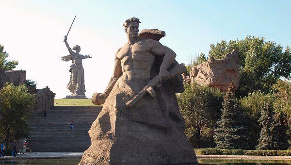 Мемориальный комплекс Мамаев курган. Архив