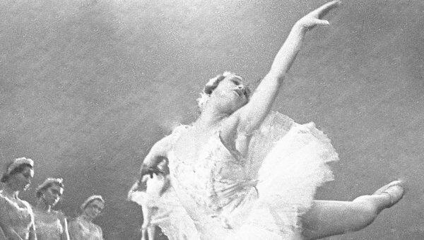 Народная артистка СССР Марина Семенова. Архивное фото