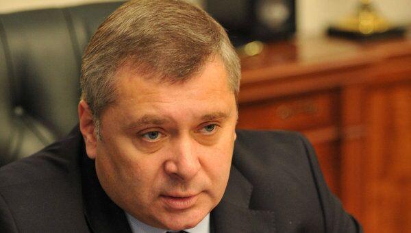 Руководитель департамента физической культуры и спорта Москвы Алексей Воробьев, Архивное фото