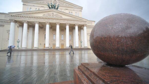 Здание Московского Большого театра