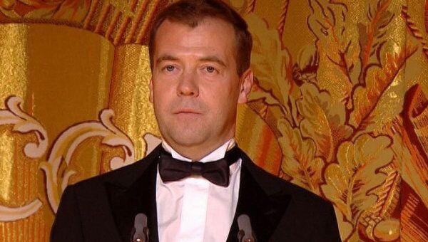 Медведев назвал Большой театр самым великим российским брендом