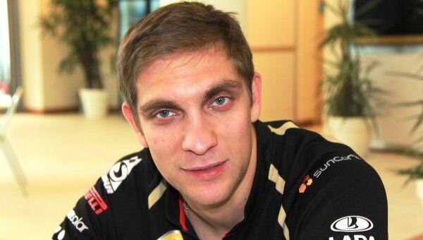Виталий Петров на индийском этапе Формулы-1