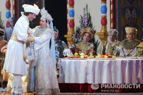Предпремьерный показ оперы Руслан и Людмила на сцене Большого театра