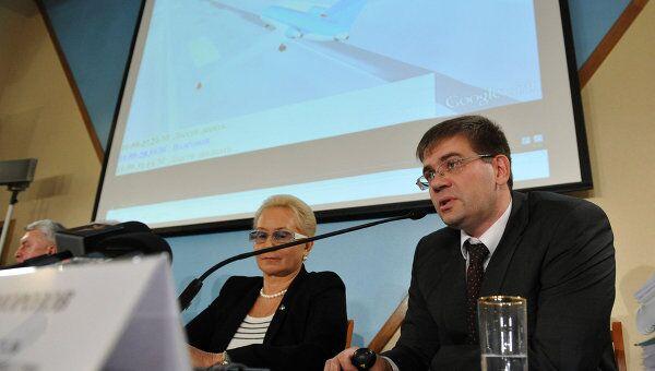 П/к О результатах расследования катастрофы самолета Як-42Д