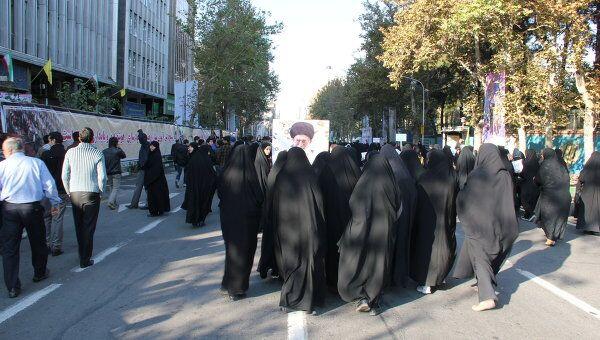 Антиамериканская демонстрация в Тегеране. Архив