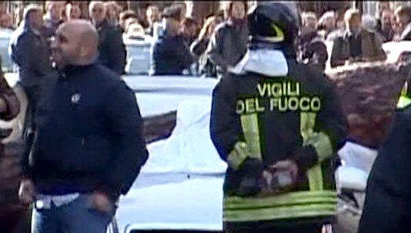 В Италии продолжается разгул стихии, вызванной  проливными дождями