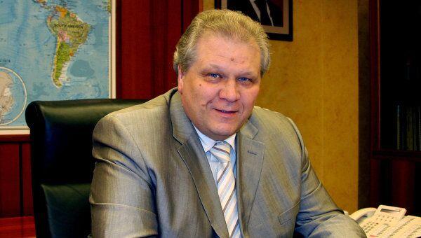 Генеральный директор  ОАО Техснабэкспорт  Алексей Григорьев
