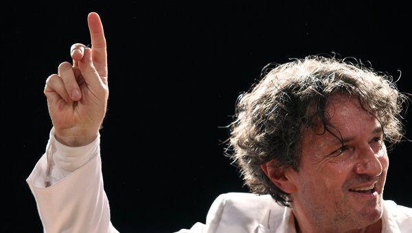 Горан Брегович на концерте, архивное фото