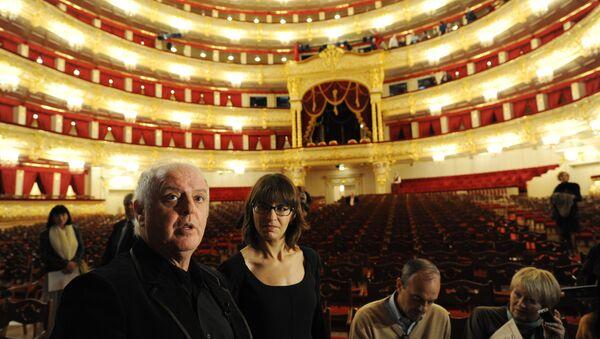 Гастроли театра Ла Скала на сцене Большого театра. Архивное фото