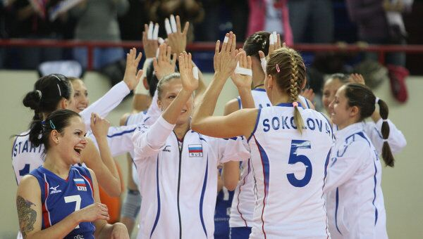 Российские волейболистки. Архив