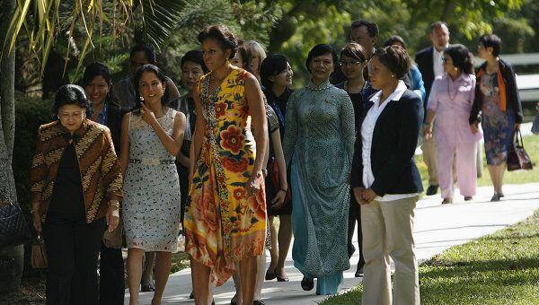 Мишель Обама на саммите АТЭС
