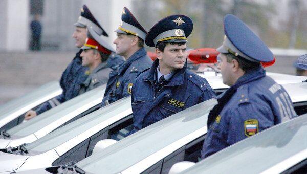 Новые автомобили для милиции