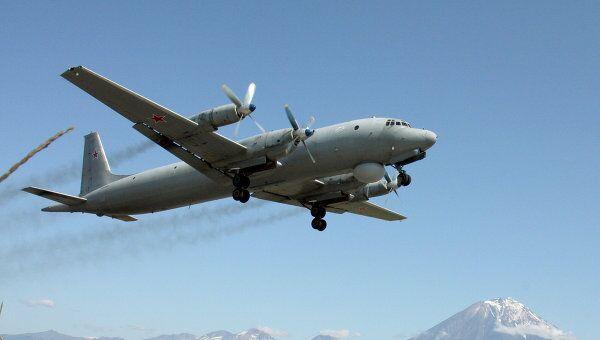 Противолодочный самолет Ил-38. Архив
