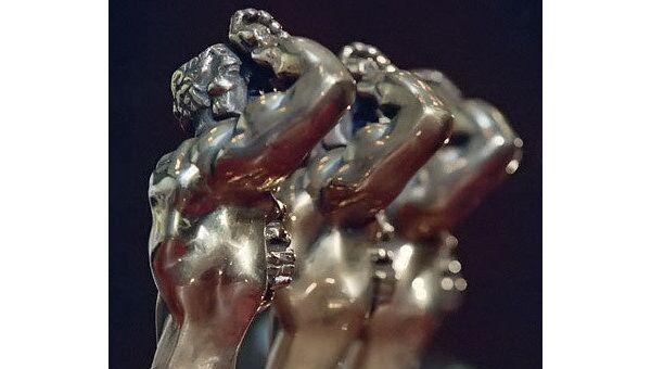 Бронзовая статуэтка Орфей - приз Академии Российского телевидения ТЭФИ
