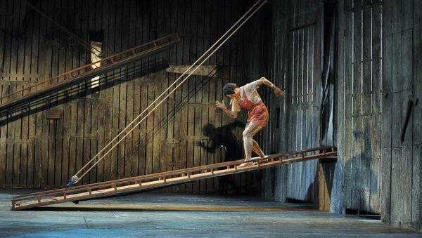В музыкальном театре имени Наталии Сац . Архивное фото