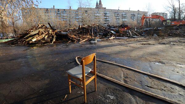 Дом Культуры Октябрь снесен в Москве